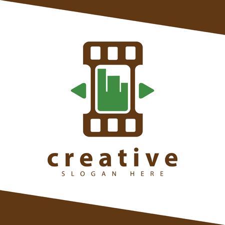 Graph Film Logo Vector template