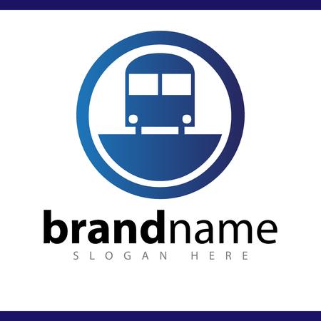 car transportation logo icon vector template