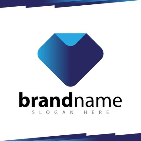Diamond abstract Logo Template Logo