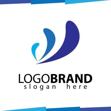 W Abstract Logo Vector template