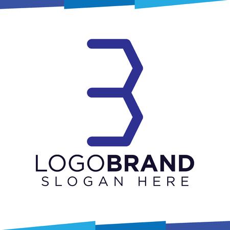 B Letter hexagonal Logo Icon Vector template, home logo 矢量图像