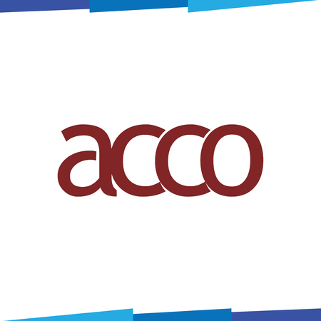 Ac co Letter Logotype Icon Vector template