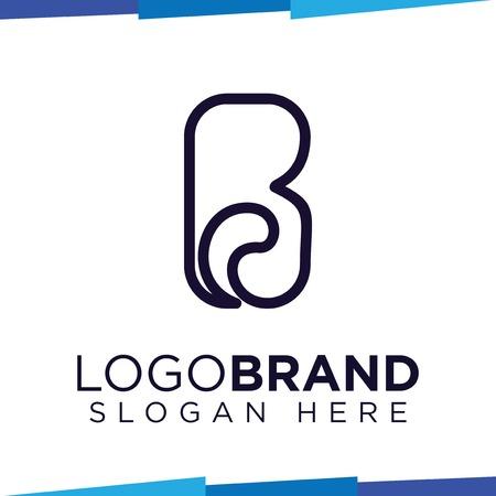 B Letter logo vector template
