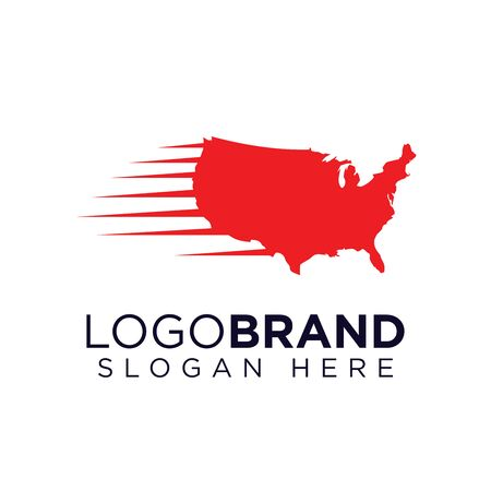 American Speed Logo template