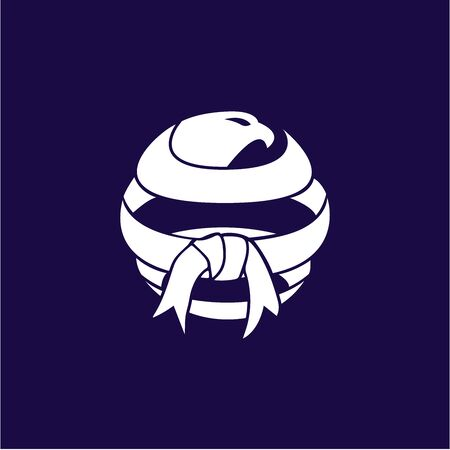 Global martial art logo template