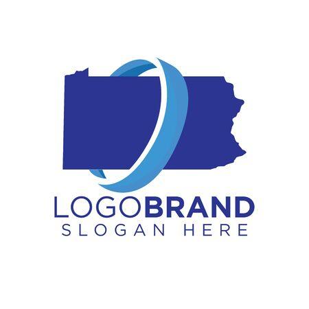 Kansas Transportation logo template