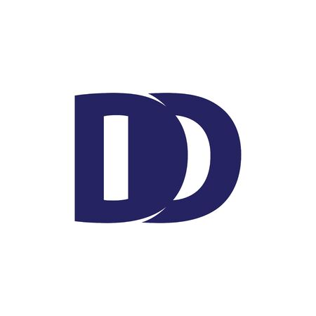 DD Initial letter Logo Vector Template 向量圖像