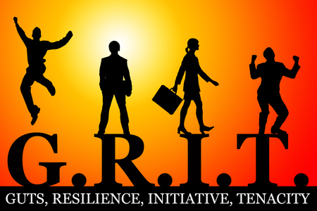 grit in life and career illustration