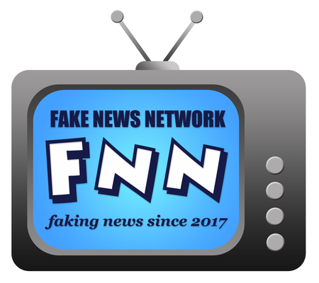 fake news network illustration