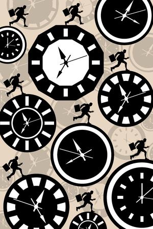 race against time illustration