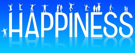 people happiness illustration