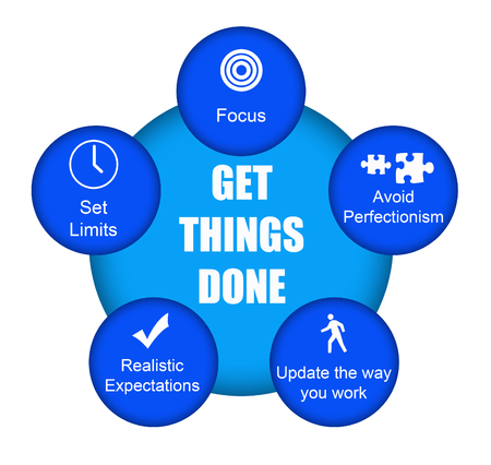 get things done illustration