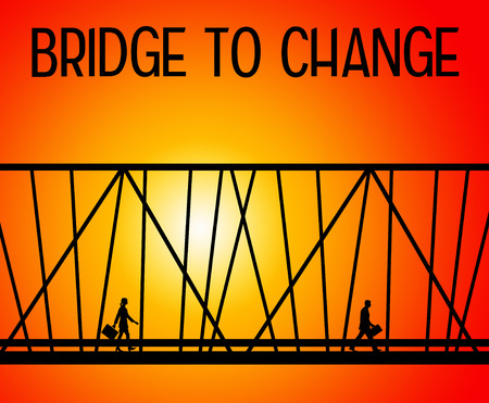 bridge to change illustration