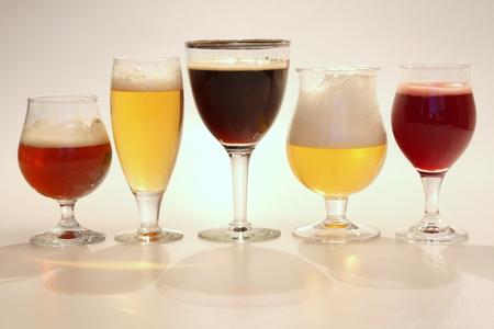 Belgian beer Imagens
