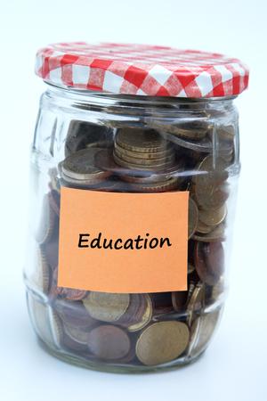 Education money 版權商用圖片