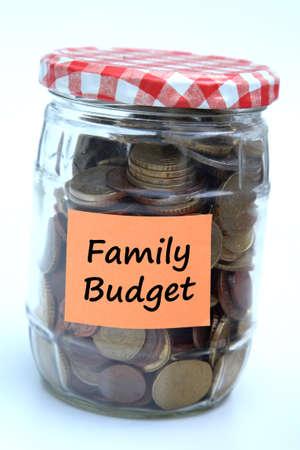 Family budget 版權商用圖片