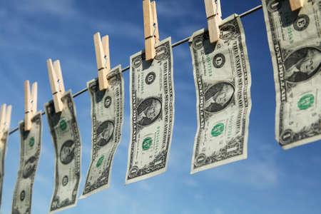 dollar bills Imagens - 152063726