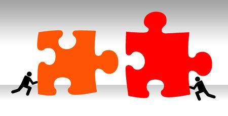 finding solution illustration