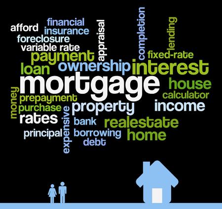 mortgage topics illustration