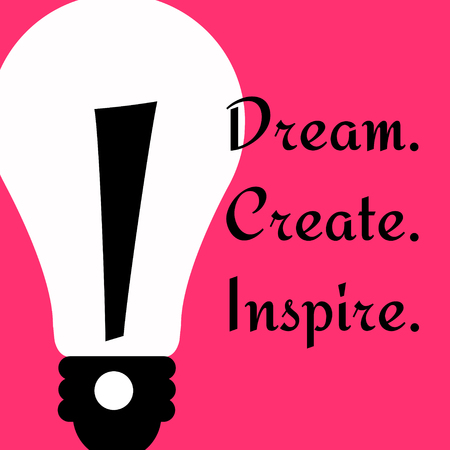Create and inspire illustration