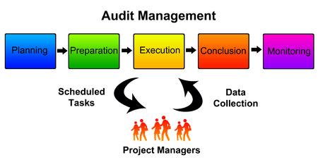 Audit management illustration