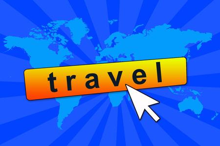 online travel illustration