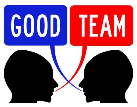 Good team illustration
