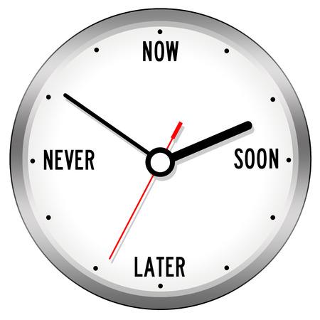 focus procrastination illustration