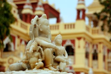 budda temple india Stock Photo