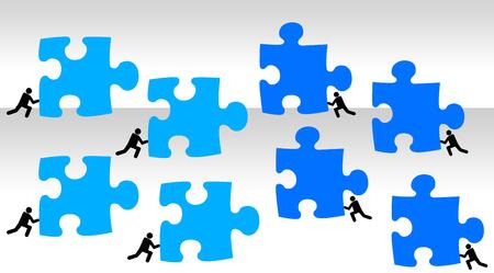 groups battle illustration