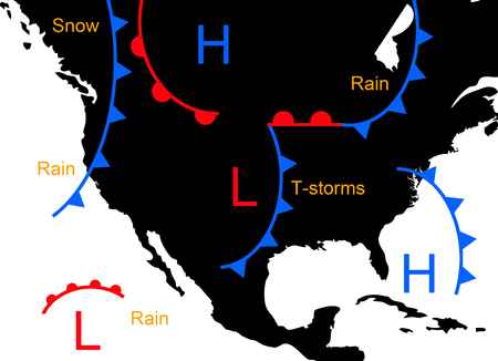 weather systems illustration