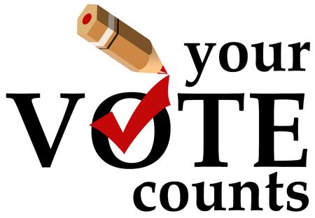 election vote illustration
