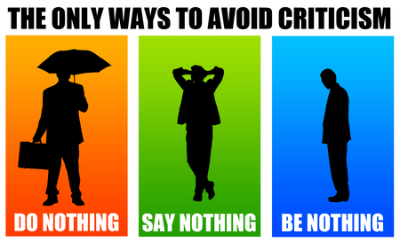 avoid criticism illustration