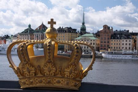 Stockholm crown Stock fotó