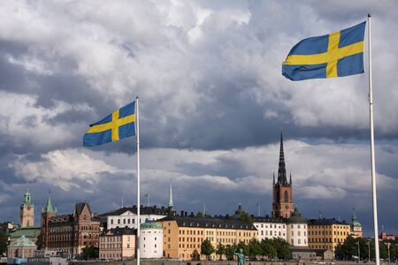 Stockholm flags