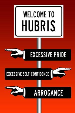 Hubris illustration
