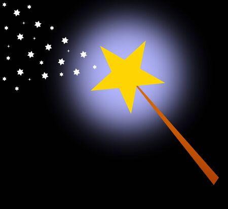 wand illustration