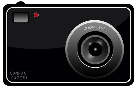 Compact camera illustration