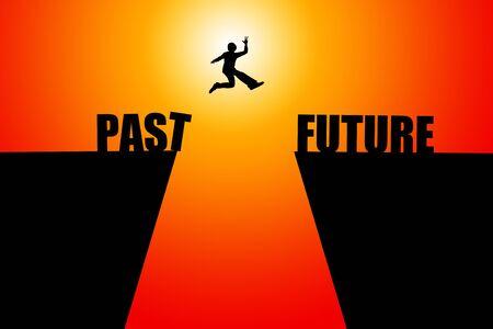 Buona illustrazione del futuro