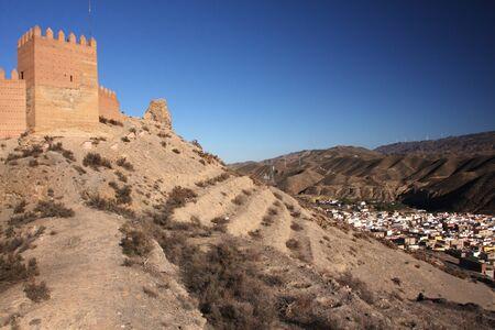 Andalucia castle Stock fotó