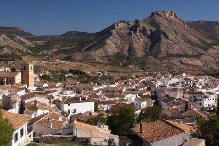 spanish mountain town