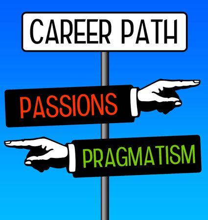 career path illustration
