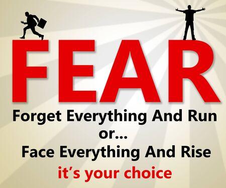 Fear illustration