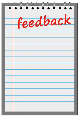 feedback sheet illustration