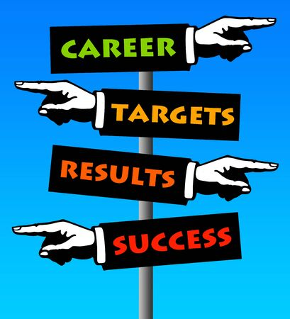 career targets illustration