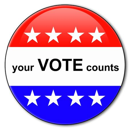 Your vote counts illustration