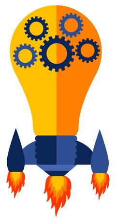 Making ideas work illustration 版權商用圖片