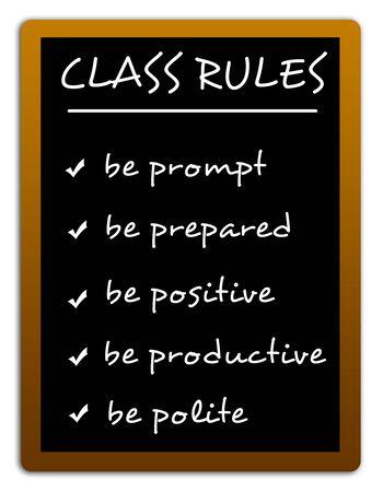 Class rules illustration