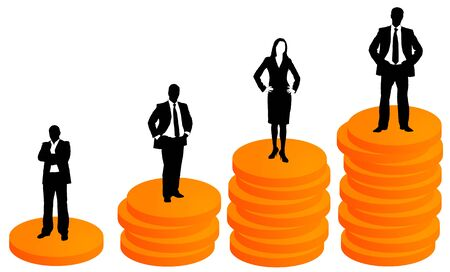 rich people illustration