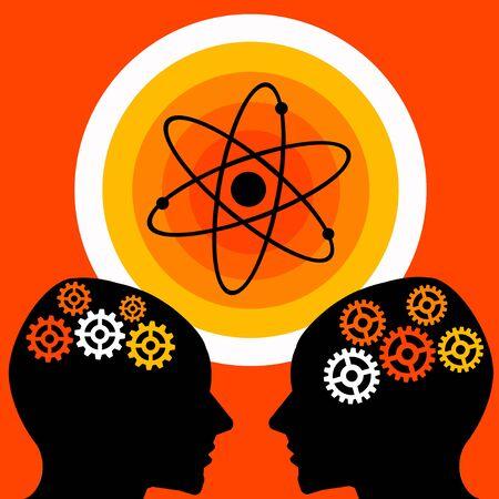 science exploration illustration